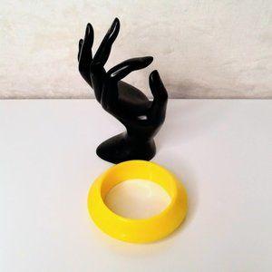 #J34 Yellow Bangle Bracelet